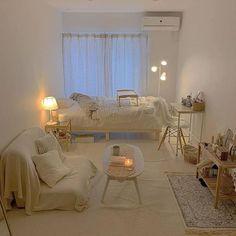 Room Design Bedroom, Room Ideas Bedroom, Small Room Bedroom, Korean Bedroom Ideas, Modern Master Bedroom, Bedroom Decor, Study Room Decor, Minimalist Room, Aesthetic Room Decor