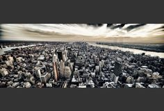 Removable wallpaper for your exhibition and retail space, conference rooms, feature walls, nursery and kid's rooms. City Skyline Wallpaper, Cityscape Wallpaper, Wallpaper Murals, Manhattan, Quote, Image, Quotation, Qoutes, Quotes