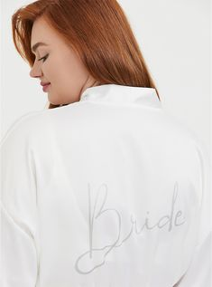 Find sales on Torrid Bride White Satin & Lace Robe and other deeply discounted products at Shop Scenes. Matching Bra And Panty, Bra And Panty Sets, White Satin, White Lace, Plus Size Sleepwear, Bride To Be Sash, Black Lace Bralette, Curvy Bride, Cloud Dancer