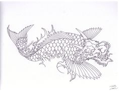 DRAGON KOI by ~IanMangan on deviantART