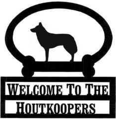 Sweeney Ridge Husky Custom Welcome Sign