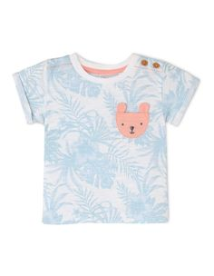 18M Infant Girls/' Love Makes a Family Animals Graphic White T-Shirt Cat /& Jack