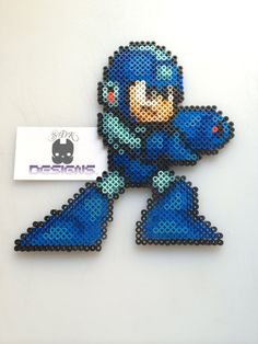 Mega Man Perler Bead Sprite Art by SDKD on Etsy