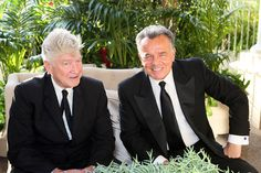David Lynch and Ray Wise, May 17, 2013.  Photo Credit: Ryan Miller for Capture Imaging