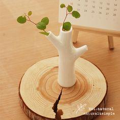 텐바이텐 10X10 : 인테리어 꽃병_나무