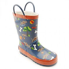Great kids wellies at a discount Lightweight rubber sole for comfort. Fleece linings for warmth and comfort. Water-resistant upper to keep feet dry. Wellies Boots, Shoe Boots, Wellington Boot, Boys Shoes, Little Boys, Rubber Rain Boots, The Incredibles, Water, Kids