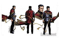 Dr. Strange art by Chris Bachalo<br />