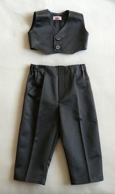 Festanzug, Hose und Weste. von baby-tailor auf DaWanda.com