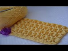 The Marshmallow Crochet stitch