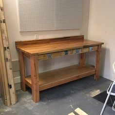 Thinking of building your own workbench but aren't quite certain where to start? Then, you're in right place. In this post, we've compiled 11 DIY workbench ideas that you can use in your do something area, in your garage, or in your house office. Building A Workbench, Folding Workbench, Diy Workbench, Woodworking Bench, Woodworking Crafts, Workbench Organization, Industrial Workbench, Workbench Designs, Workbench With Drawers
