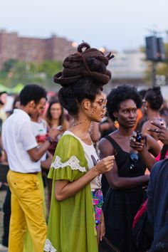 18-15n-77-30w: the-streetstyle: Happy Monday: AfroPunk Recap, Part 1via simplycyn 18° 15' N, 77° 30' W - IMPRESSIVE!!