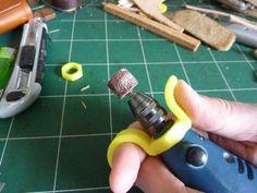 Precision handle for mini-drill / Dremel like - Poignée de précision pour mini-perceuse / Dremel by scarou - Thingiverse