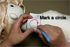 """Free pattern and detailed instructions for soft cloth doll.""""Absolute Sweet Cindy"""""""