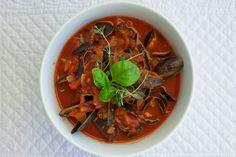 Blåskjell i tomat- og hvitvinsaus | Bra hverdag