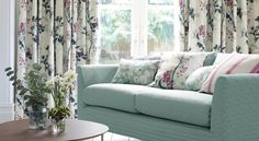 Villa Nova presents Elveden prints and weaves, rich with intrigue and nostalgia inspired by woodland and nature. Prints and Weaves Upholstery Fabrics, Prints, Drapes & Wallcoverings Outdoor Fabric, Orchids, Love Seat, Pillow Covers, Indoor, House Design, Contemporary, Pillows, Prints