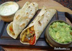 Taco mexicano vegetariano