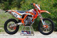 moto KTM  250 EXC-F  Team Factory enduro