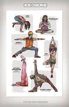 Yoga para todos… para piratas, robots, ninjas, steam punks, zombies y hasta superhéroes | Sin Embargo