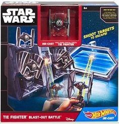 Hot Wheels Star Wars TIE Fighter Blast-Out Battle Play Set 40% off