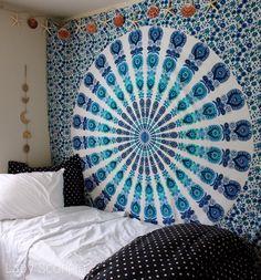 Gypsy Aquamarine Mandala Mermaid Beach theme by Lady Scorpio