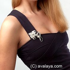 Brooches guide: how, where and when to wear a brooch - avalaya.com