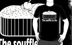 Doctor Who Portal the Souffle is a lie Black/White
