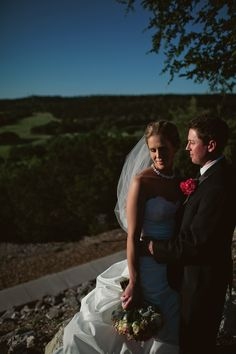Bride and Groom sunset Texas Hill Country. Diana + Jeremy - Jeremy Gilliam