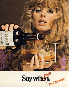 Vintage Haig advert found at Vintage-a-Peel, from Sunday Times Magazine, June 1971