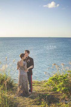 Okinawa Couple Photographer, Okinawa, Japan, Marine Corps Ball, Beach, Couple, Family, La La Noble Photography
