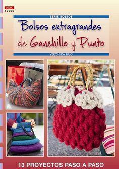 Bolsos extragandes de ganchillo y punto http://www.editorialeldrac.com/Drac/fichaPublicacion.aspx?Id=2312