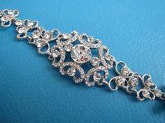 Crystal wedding headbandbridal hair by ChantalEveleen on Etsy, $38.00