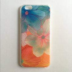 """iPhone 6/6s Case NEW 'Hawaiian Floral'  🔹 Fits 4.7"""" iPhone 6 & iPhone 6S 🔹 Hardcase 🔹 NO LIP 🔹 Covers back and sides 🔹 Comes with screen protector Accessories Phone Cases"""