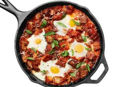 Get Food Network Kitchen's Eggs in Purgatory with Sausage Recipe from Food Network