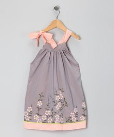 Used to make dresses like this one when my girls were little ... they were no way this pretty ... grin