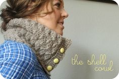 Free Crochet Patterns: Shell Cowl  = inexpensive Christmas Gift. 1-2 skeins?! For ??? (women, all ages)
