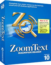 With the release of ZoomText 10, we're bringing it all together with integrated support for HD webcams as CCTVs, recording text to audio, background reading, and new standards in web navigation.    Ai Squared offers a range of screen magnification and screen reading software products to fit anyone's needs. Whether you are visually impaired, or squint at your computer screen and lean in to read the fine print, we have a solution for you.