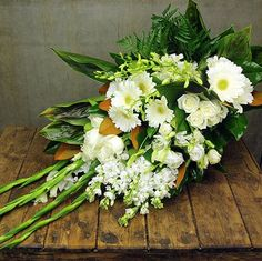 We offer a range of online flowers for funeral services, includes traditional funeral wreaths, tribute bouquets, classic flower arrangements and more. Flowers For Everyone, Flower Service, Online Florist, Flowers Delivered, Gladiolus, Funeral Flowers, Flowers Online, Flower Arrangements, Orchids