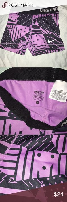 Nike Spandex shorts Nike Pro spandex shorts. Light weight. Perfect for working out. Nike Shorts