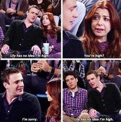 """When Marshall was high. Really high. 