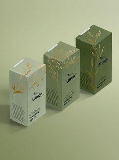 New in portfolio: atinge – cocorrina skincare packaging, tea packaging, beauty packaging, Packaging Box Design, Cool Packaging, Tea Packaging, Brand Packaging, Label Design, Package Design, Design Design, Skincare Packaging, Beauty Packaging