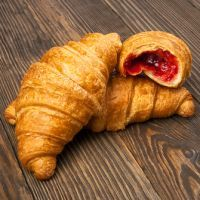 Strawberry Filled Croissants