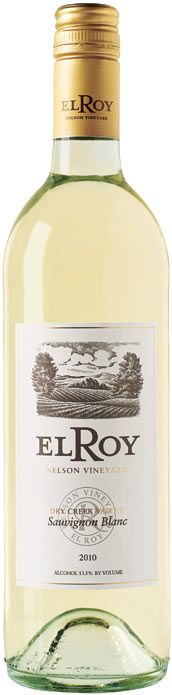 El Roy Nelson Vineyard Sauvignon Blanc 2010 - Zagat Wine  Light golden yellow. Zingy lemongrass and grapefruit, with notes of green olive. Clean and crisp, with classic flavors of green apple, pear and grapefruit. Delicious on a warm summer evening, with food or without..