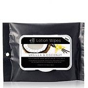 This is one of my favorites on e.l.f.: e.l.f. Studio Lotion Wipes- I can't attest to all the scents becsuse I have only used the vanilla/coconut and the cucumber/melon. These two were fantastic. They moisturize and take off your makeup. It's perfect for late nights when you don't want to deal with your whole night skin routine.