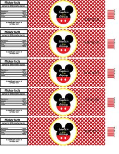 free template mickey mouse water bottle   just b.CAUSE