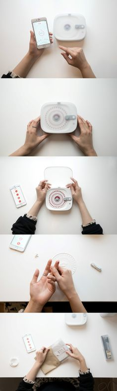 The Kenko is a device you've never seen or heard of before, but can save your life. Touted as the world's first domestic microRNA analyzing device, Medical Design, Kenko, Bar Plans, Tech Pack, Bang And Olufsen, Box Design, Design Tech, App, Salud