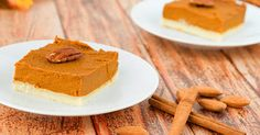 vegan pumpkin mousse pie gluten free