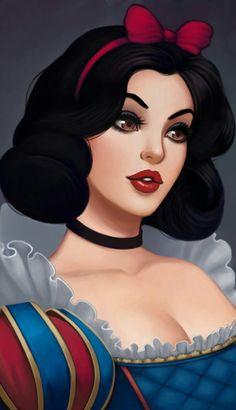 19 Ideas for tattoo disney snow white beautiful Disney Kunst, Arte Disney, Disney Fan Art, Disney Love, Disney Magic, Disney Pixar, Disney And Dreamworks, Disney Characters, Pocahontas Disney