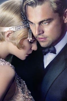 The Great Gatsby. Loved the fashion and make - up in the movie. Captured the glamor of the roaring 20's.