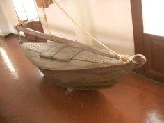 Burcelo originale conservato al Museo dell'Arsenale di Venezia