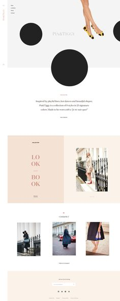 minimalist fashion website design